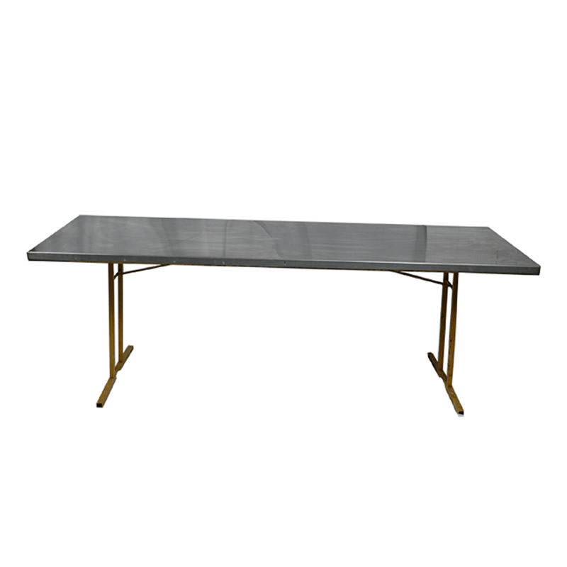 Stainless steel trestle table patti 39 s hire for Table exterieur 1m