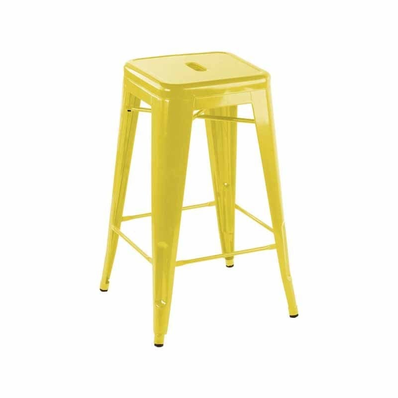 Yellow Tolix Stool Bar Patti S Hire
