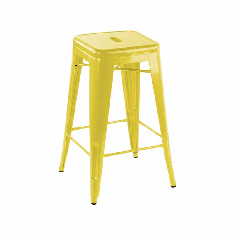 Yellow Tolix Stool Bar Patti S Hire