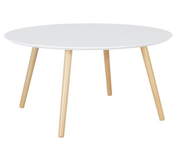 White Arbor Coffee Table, table hire, pattis hire